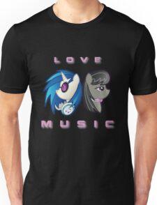 Love the Music Unisex T-Shirt