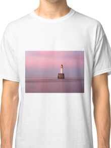 Rattray Head Lighthouse at Sunset Classic T-Shirt