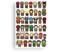 Heroes Unite! Canvas Print