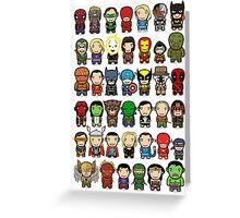 Heroes Unite! Greeting Card