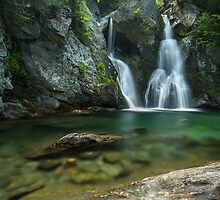 Bash Bish Falls by Rob Lavoie