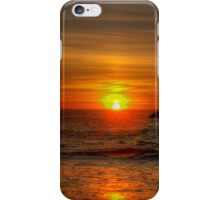 Sunset at Squeaky Beach iPhone Case/Skin