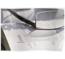 Bible Readings Isaiah Poster