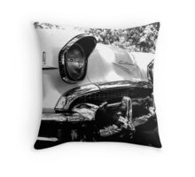 Chevy Eyes, The Hooded Headlights on a Classic Throw Pillow