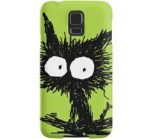 Black Unkempt Kitten GabiGabi Samsung Galaxy Case/Skin