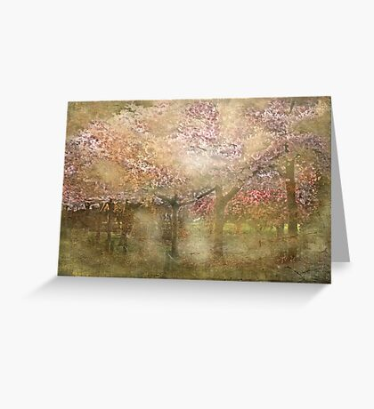 """""""Dreaming Blossom ............"""" Greeting Card"""