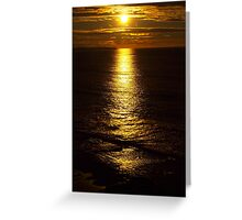 Early Morning Over The Bay Greeting Card
