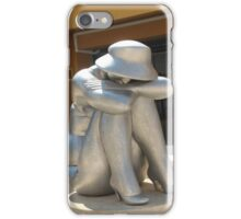 The girl in a hat. iPhone Case/Skin