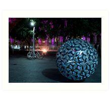 Brisbane by night... Art Print