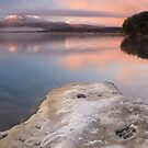 Frosty winters morning pano by Paul Mercer