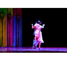 "Couple dancing Tango at ""Caminito"" Buenos Aires Photographic Print"