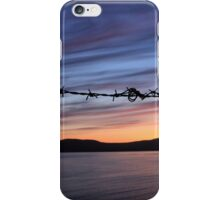 Barbed Wire Sunset iPhone Case/Skin
