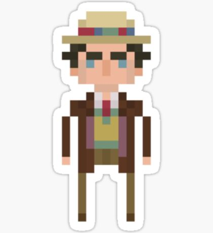 Seventh Doctor Sticker