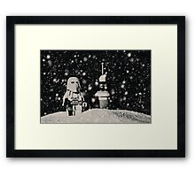 The night shift on Hoth Framed Print