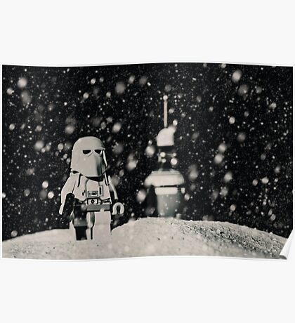The night shift on Hoth Poster