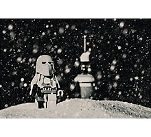 The night shift on Hoth Photographic Print