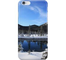 Spray Lakes Reflection iPhone Case/Skin