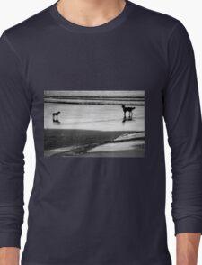 Standoff At The Beach Long Sleeve T-Shirt