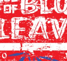House of Blue Leaves Distress Sticker