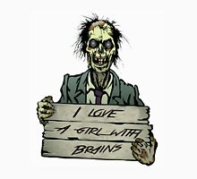 Zombies can love, right? Unisex T-Shirt