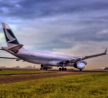 Cathay Pacific - Sydney Mascot Airport, NSW, Australia by Mark Richards