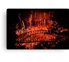 Red New Year Canvas Print