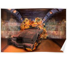 Inferno - Lincoln Continental in Tunnel Poster