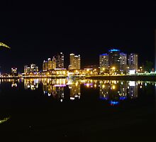 Buenos Aires, Argentina. Puerto Madero by night by Atanas Bozhikov Nasko