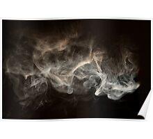 Hookah Smoke Poster