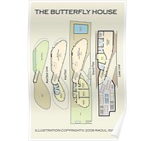 The Butterfly House Poster
