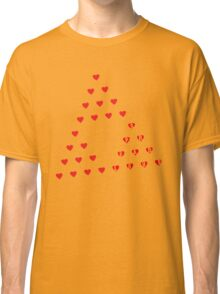 Spread Love - Sierpinski Hearts Classic T-Shirt