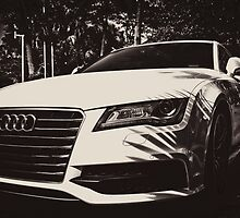 Front of an AUDI by benbdprod