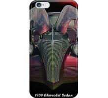 Painted Lady - 1939 Chevrolet Sedan iPhone Case/Skin