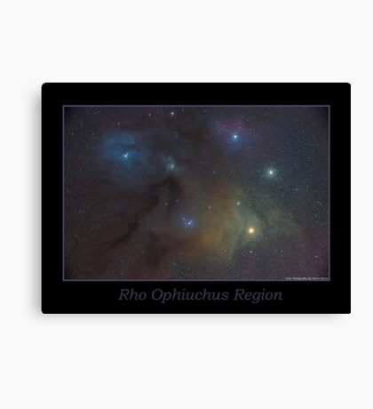 Rho Ophiuchus Region Canvas Print