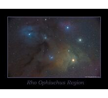 Rho Ophiuchus Region Photographic Print