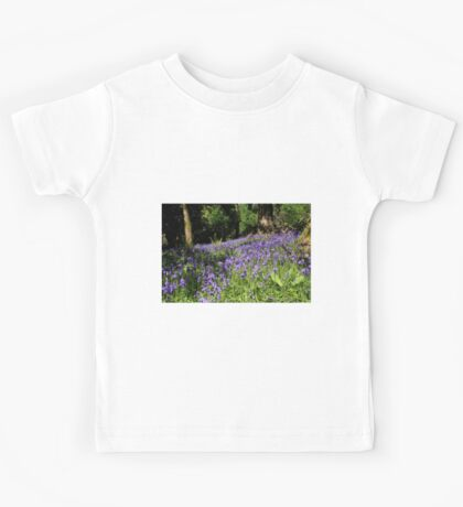 Forest Of Bluebells Kids Tee