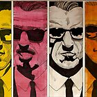 reservoir dogs blonde pink white orange by Robinjood