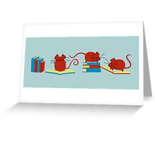 Ratolines Greeting Card