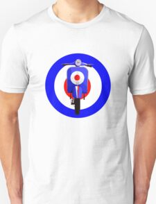 Retro Mod Target with sixties scooter T-Shirt