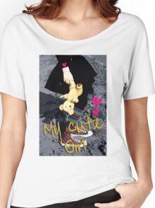 my cute girl Women's Relaxed Fit T-Shirt