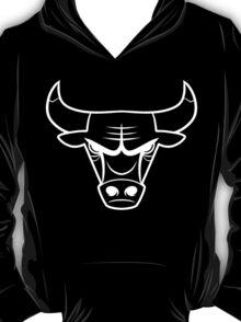 Bulls White Logo T-Shirt