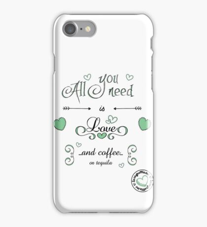 All you need... iPhone Case/Skin