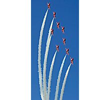 The Red Arrows on display Photographic Print