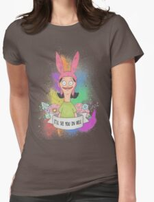 Louise Belcher Womens Fitted T-Shirt