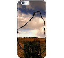 Ominous Prairie Skies iPhone Case/Skin