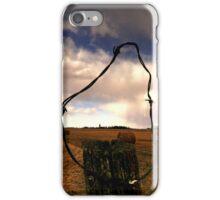 Ominous Prairie Skies iPhone Case/Skin