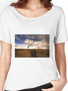 Ominous Prairie Skies Women's Relaxed Fit T-Shirt
