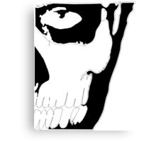 Rick Genest in Black&White Canvas Print