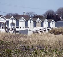 Changing Rooms Watch Hill, Rhode Island by Maureen Zaharie