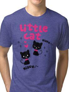 cute cat Tri-blend T-Shirt